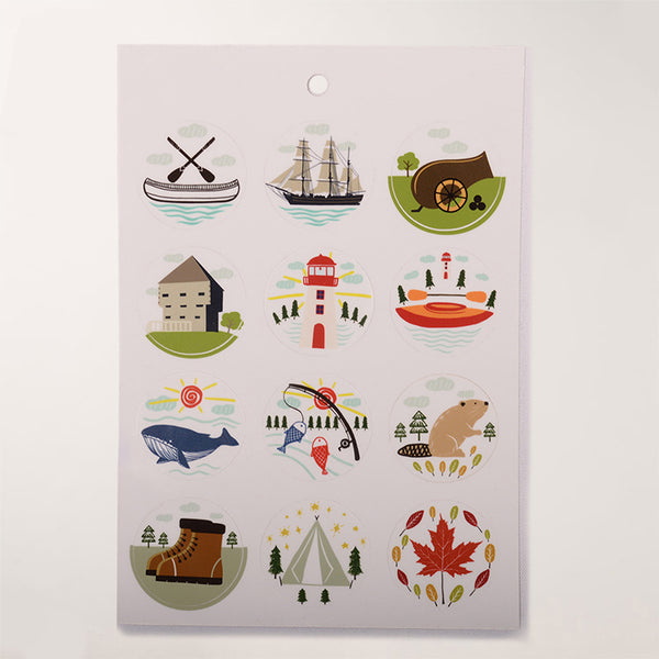 Kids Parks Canada Sticker Sheet