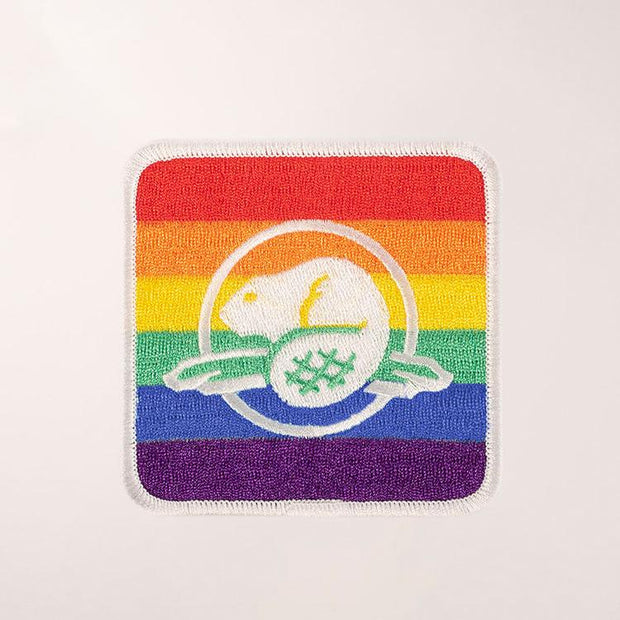 Pride Embroidered Crest