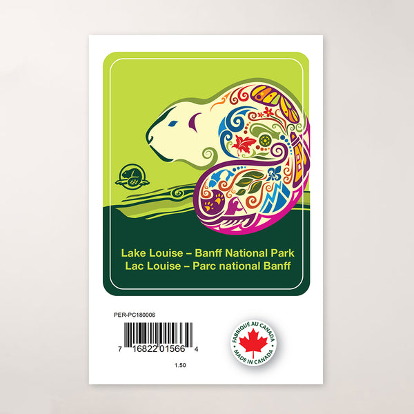 Lake Louise & Banff National Park Celebration Decal