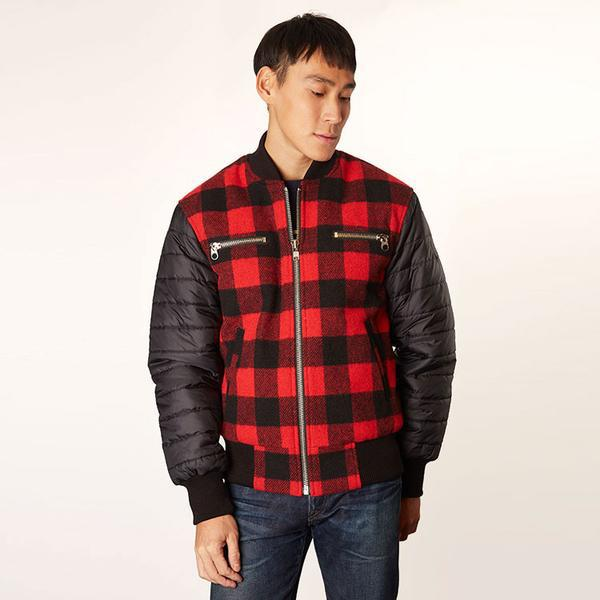 Men's Buffalo Check Club Jacket
