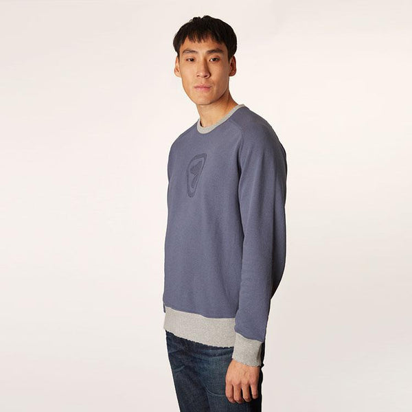 Men's Raglan Crew-Neck Popover