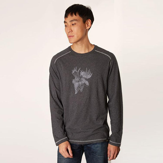 Men's Long Sleeve Raglan