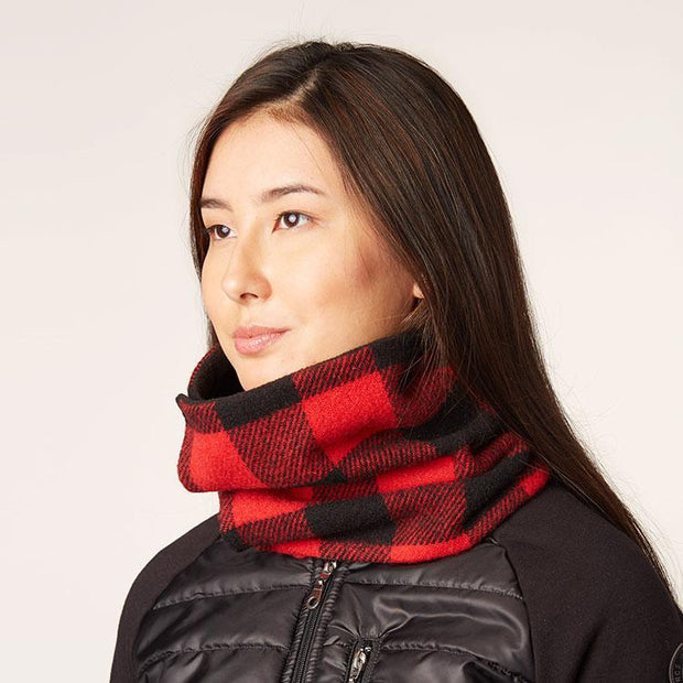 Buffalo Check Cowl Scarf