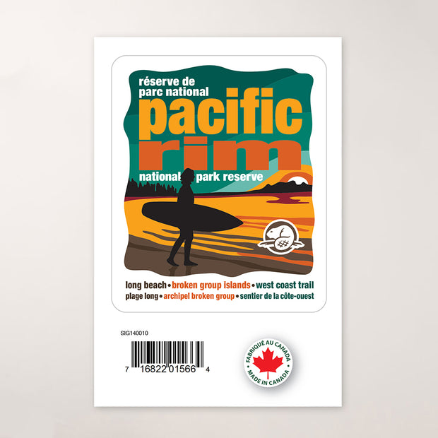 Pacific Rim National Park Reserve Decal