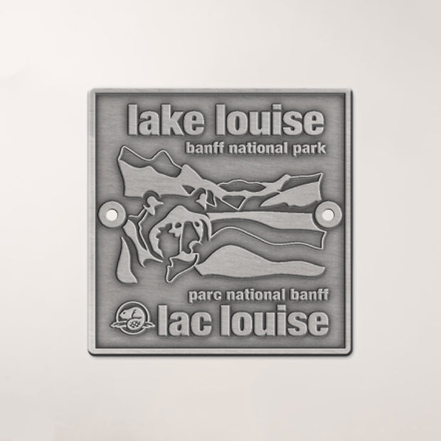 Lake Louise Walking Stick Medallion