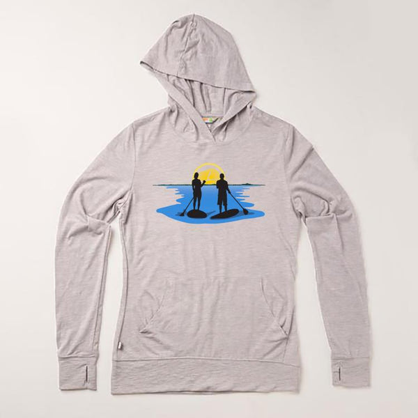 Women's Lightweight Hoody Just for Paddleboarders
