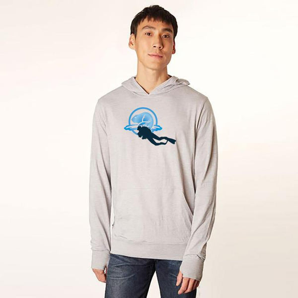 Men's Lightweight Hoody Just for Divers