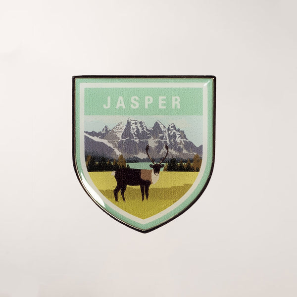 Jasper National Park Lapel Pin