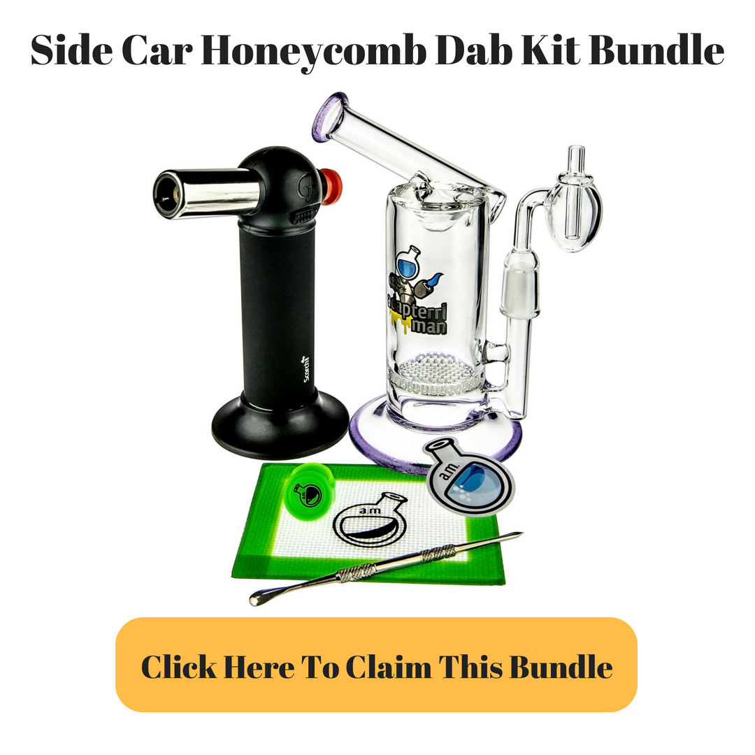 Sidecar Honeycomb Dab Rit Kit Bundle by Adapterrlman