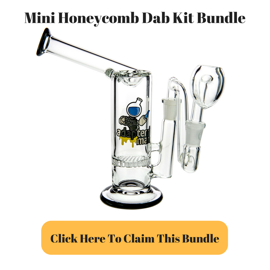 Mini Sidecar Honeycomb Dab Rig Kit Bundle by Adapterrlman