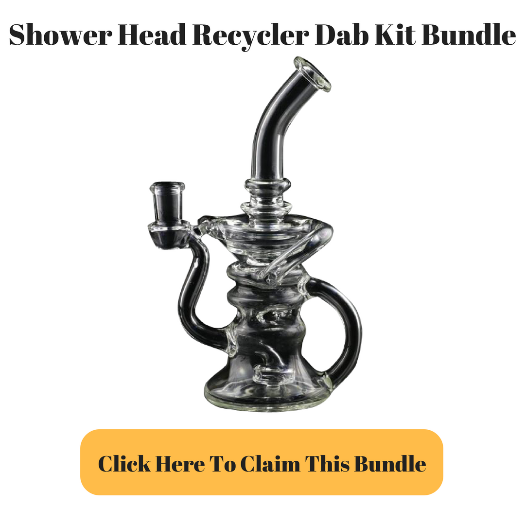 Showerhead Recycler Dab Rig Kit bundle by Adapterrlman