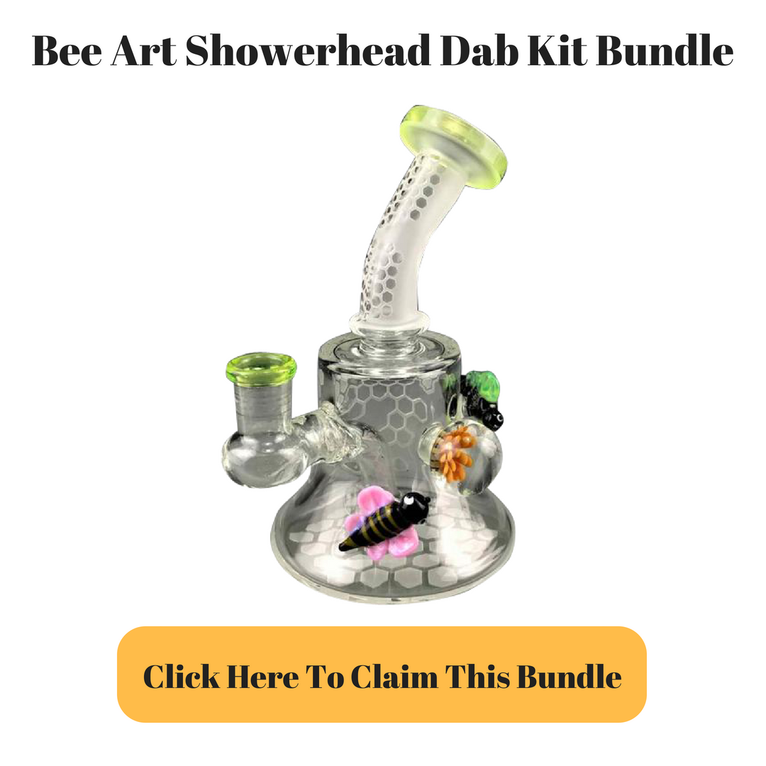 Bee Art Banger Hanger Dab Rig Kit Bundle by Adapterrlman