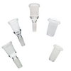 Image of Dab rig parts The always Right Fit Kit Glass Adapter 5 Piece Bundle Kit - Adapterrlman