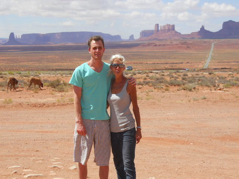 Luke and Jess Monument Valley