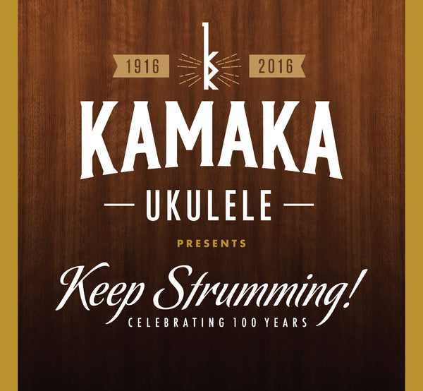 Various Artists - Kamaka Ukulele Presents: Keep Strumming!