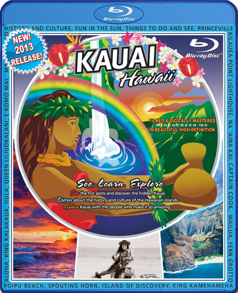 Blu-Ray Video Postcard - Kauai