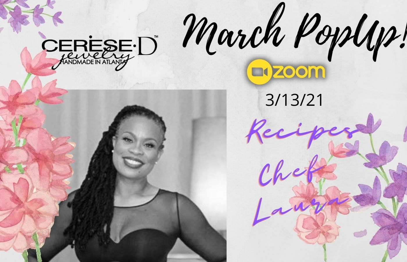 March PopUp Recipes