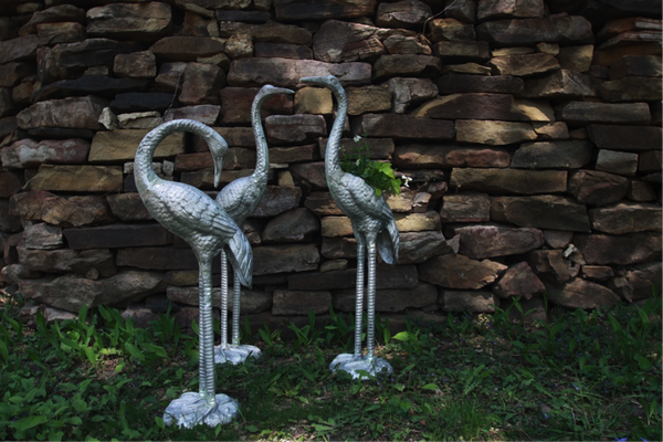 Aluminum Garden Sculpture | Architectural Forge