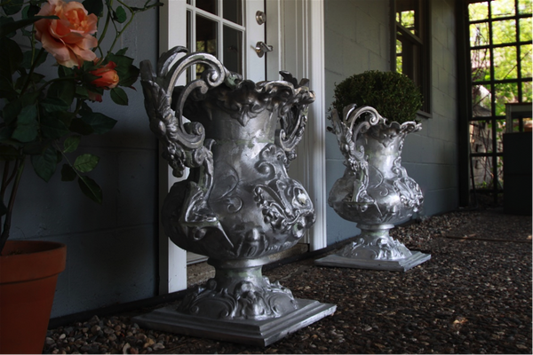 Aluminum Garden Urns and Planters | Architectural Forge