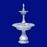 2 Tier Aluminum Victorian Fountain