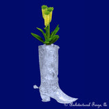 Boot - Metal Outdoor Planter