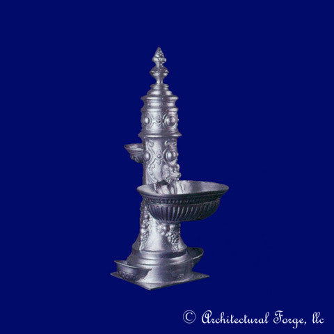 French Aluminum Landscape Fountain