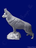 Dog - German Shepherd Statue