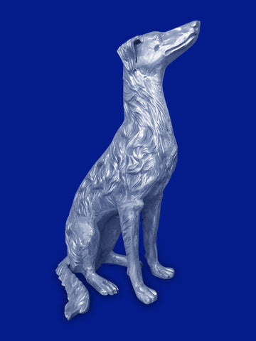 Dog - Greyhound Animal Sculpture