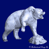 Bear - Rocky Mountain Grizzly Sculpture