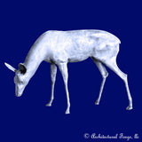 Deer - Grazing Doe Animal Sculpture