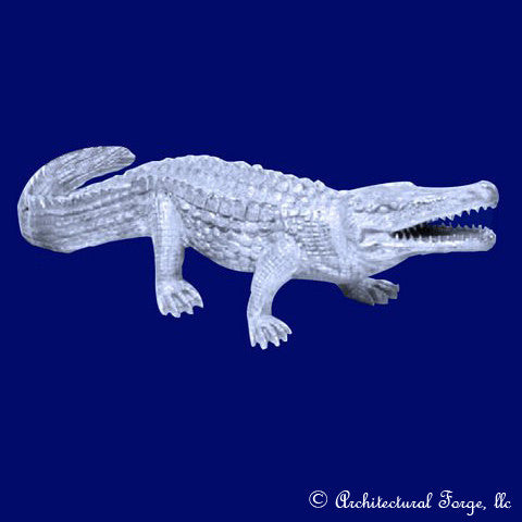Crocodile - Nile Crocodile Animal Sculpture