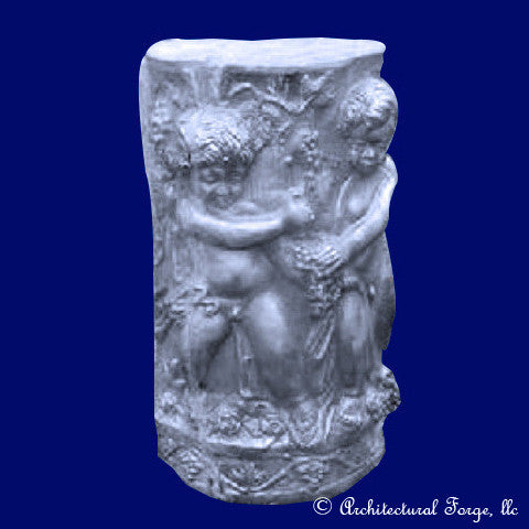 Cupid Pedestal - Garden Sculpture