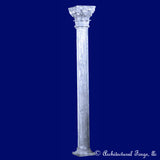 Column - Fluted Column Landscape Sculpture