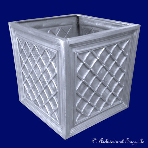 Square Basket Weave Planter