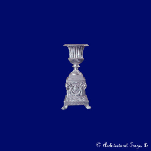 Victorian Garden Urn Planter on Base