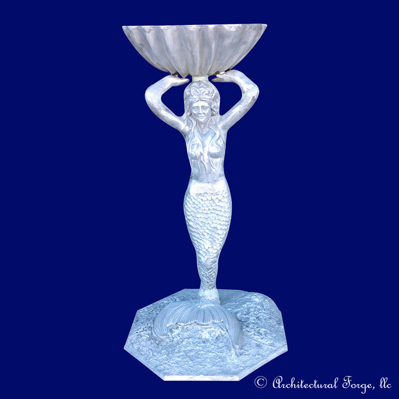 Standing Mermaid Garden Urn Planter