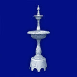 2 Tier Aluminum Fountain with Arches