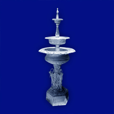 3 Tier Aluminum Jumbo Swan Fountain