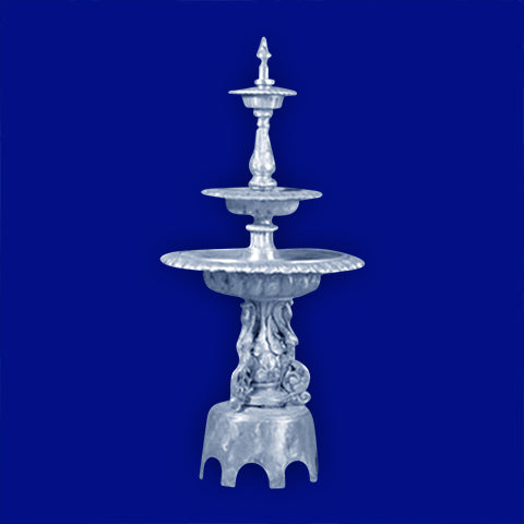 3 Tier Aluminum New Swan Fountain w/Arches