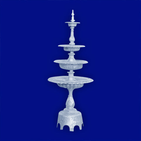 4 Tier Aluminum Fountain with Arches