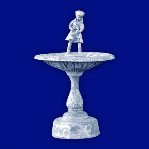 Girl Aluminum Fountain
