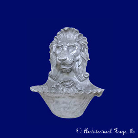 Lion-Aluminum Wall Fountain