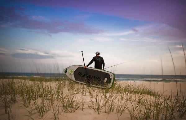 fly fishing Gulf Shores, Alabama smithfly paddleboard