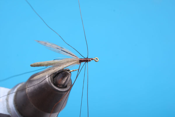 faux bucktail fly tying