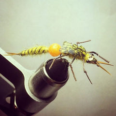 Jarid Church #beyondtheroundbead fly tying contest week 8 winner