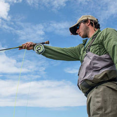 Austin Green fly fishing guide photo by Morgan Kupfer