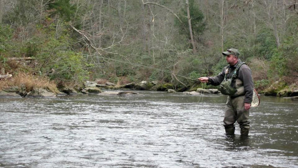 Get out and fish as much as possible – as your experience increases so will your confidence.