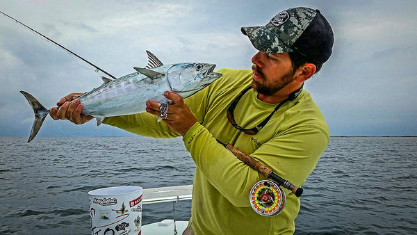 Get in the action fall false albacore on the fly for Flymen fishing company