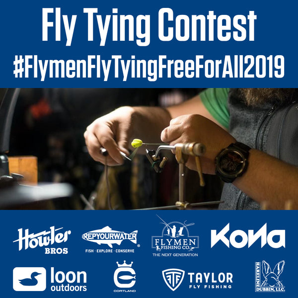 fly tying contest flymen fishing