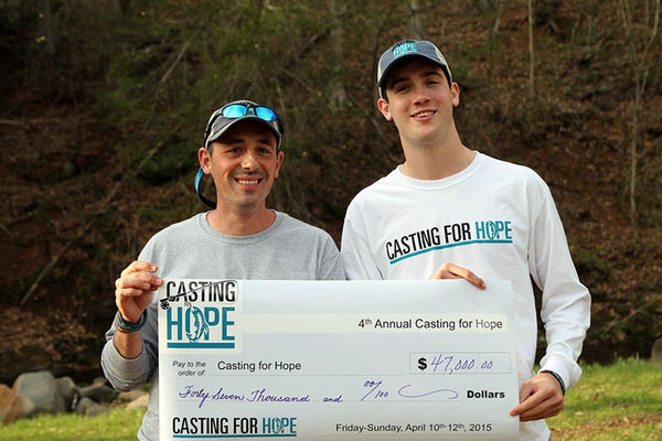 Casting For Hope fly fishing tournament